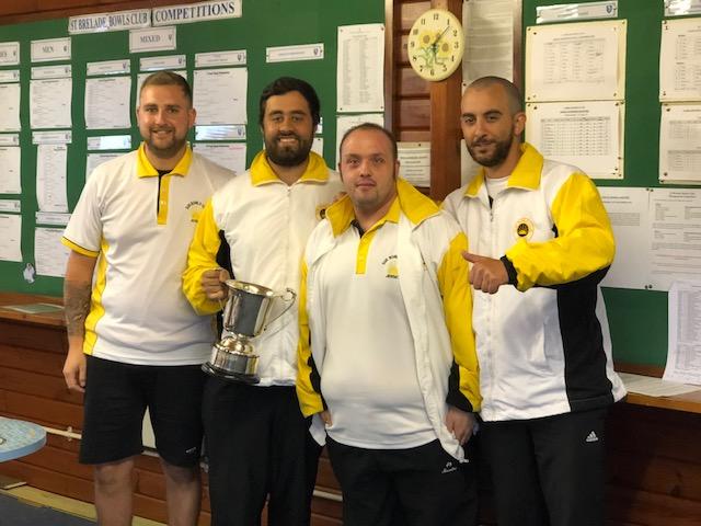 Dupre Triples winners